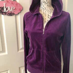 JUICY COUTURE PURPLE HOODIE SIZE  XL